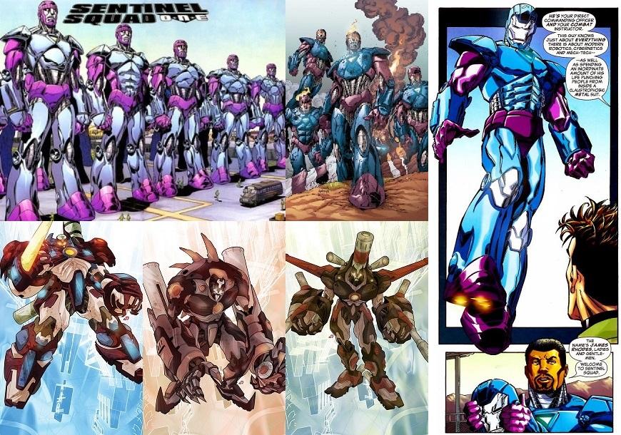漫威宇宙的哨兵機器人一覽表-正史宇宙篇