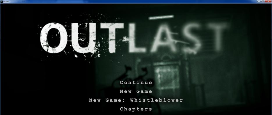 Outlast《絕命精神病院》 繁體中文檔案