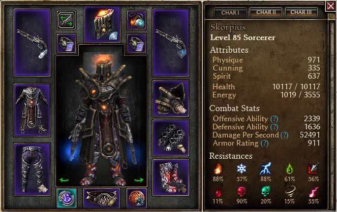 illusion be gone grim dawn